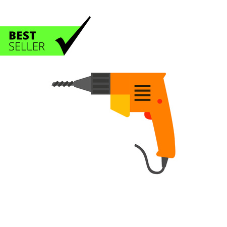 tool chuck: Electric drill icon