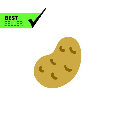starchy food: Potato icon