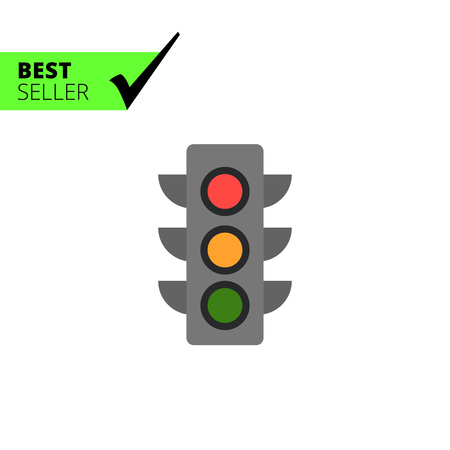 regulating: Traffic light icon