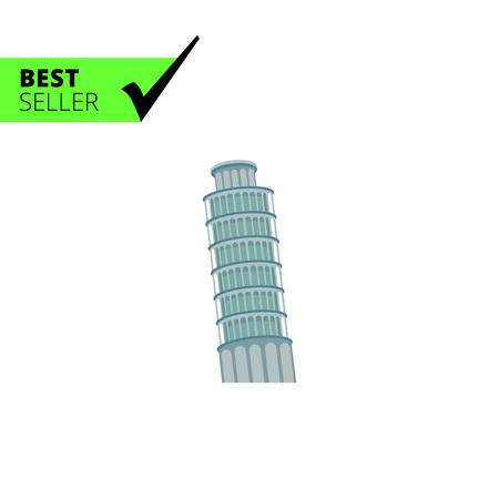 tower of pisa: Pisa tower icon