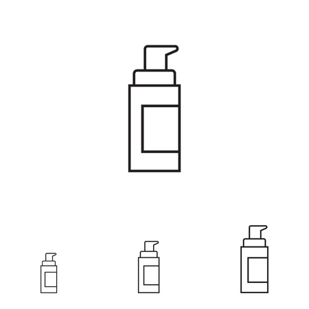 cosmetic bottle: Cosmetic bottle with dispenser