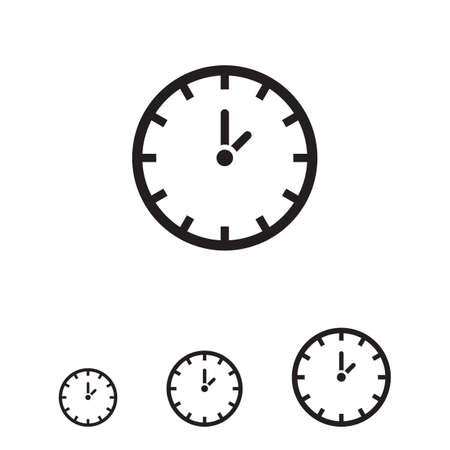 Icono Reloj Ilustración de vector