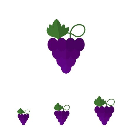 bunch: Icon of grapes bunch
