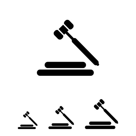 verdicts: Hammer icon
