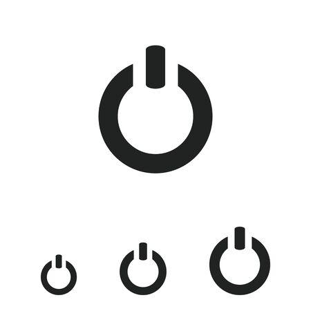 shutdown: Power symbol icon