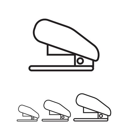 stapler: Icono de la grapadora