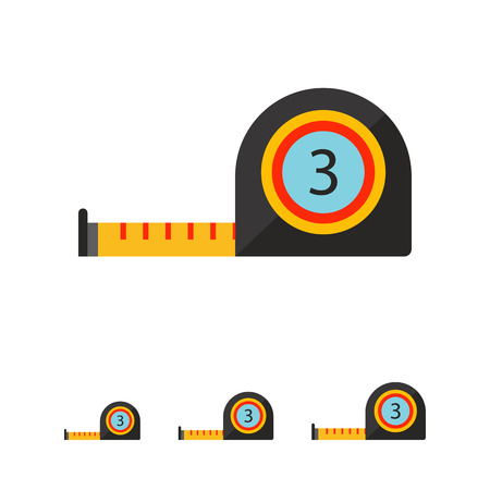 inch: Tape measure icon