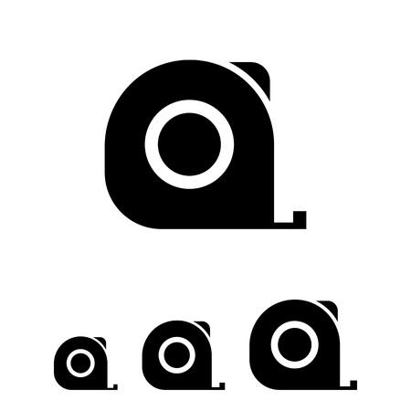 Icono de la cinta métrica