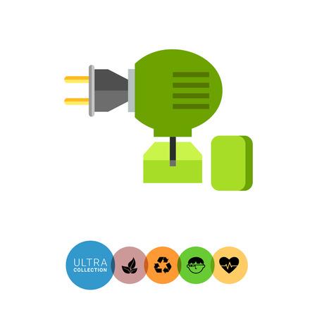 fumigador: icono de vectores multicolor de fumigador anti-mosquitos
