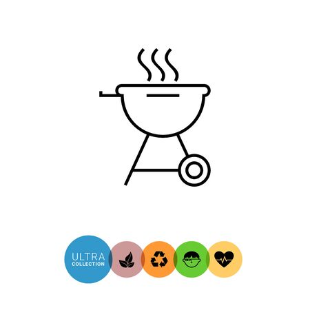 friend  nobody: Charcoal grill icon