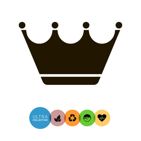monarchy: Crown icon