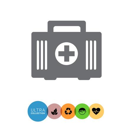 botiquin de primeros auxilios: First aid kit icon