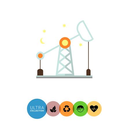 oil rig: Oil rig icon
