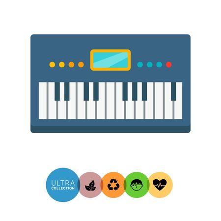 Synthesizer icon Vector Illustration