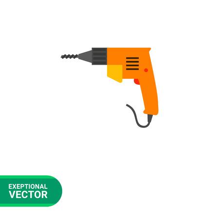 electric drill: Electric drill icon