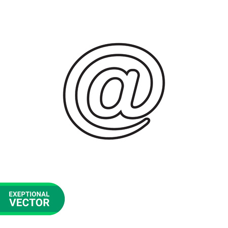 email icon: Email sign icon