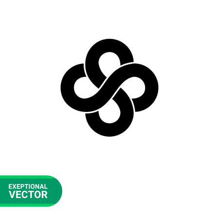 173 Double Infinity Symbol Stock Vector Illustration And Royalty