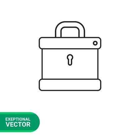secret codes: Padlock icon