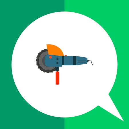 angle: Angle grinder icon