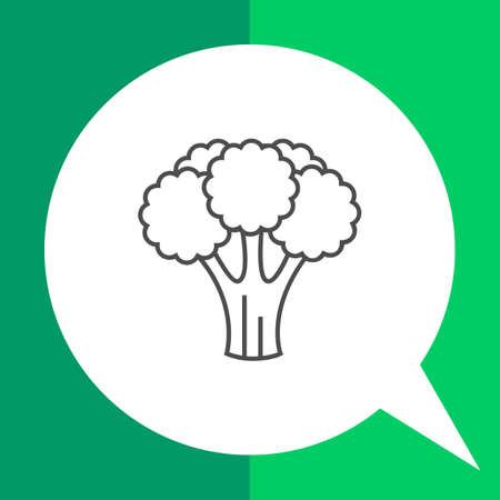 curd: Icon of broccoli curd