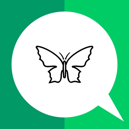 arthropods: Butterfly icon