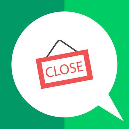 cerrar la puerta: Icono de la muestra de la puerta estrecha