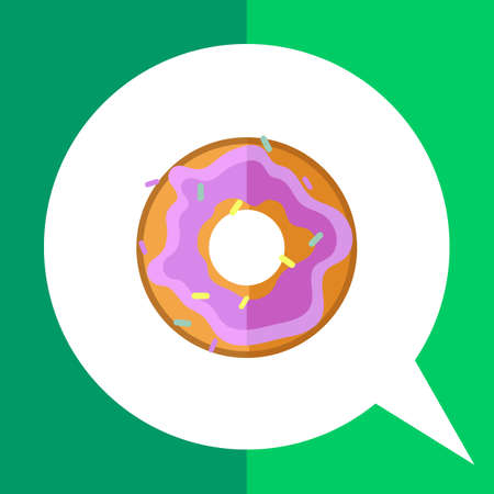 carbohydrate: Doughnut icon