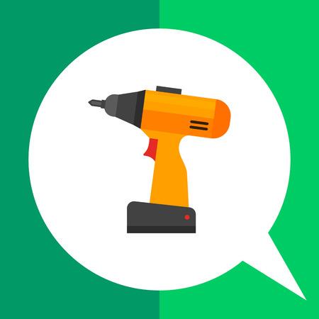 mend: Electric screwdriver icon