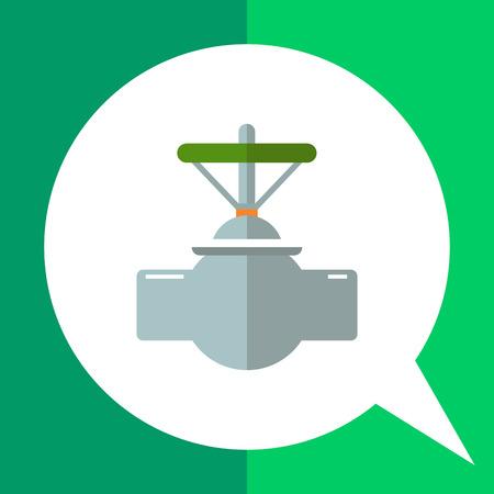 valve: Globe valve icon Illustration