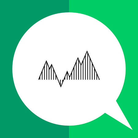 uptrend: Graph icon