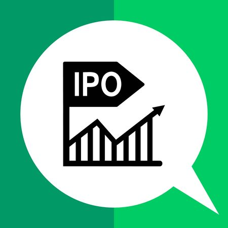 Initial public offer. Offering, stock market, investment, share. Stock market concept. Can be used for topics like business, company, investment, market, securities