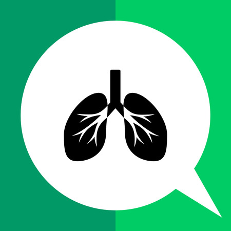 Isolated human lungs. Breath, air, smoking. Lungs concept. Can be used for topics like medicine, healthcare, anatomy.