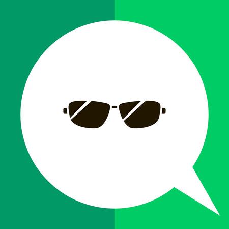 Icône de lunettes de soleil hommes