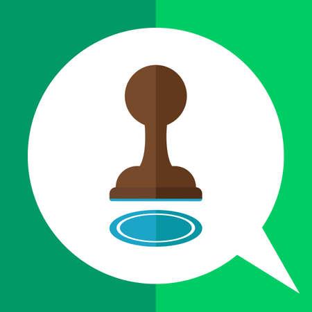 pawns: Pawn icon Illustration