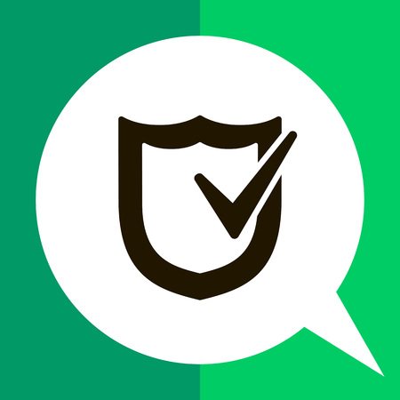 checkmark: Icon of shield with checkmark