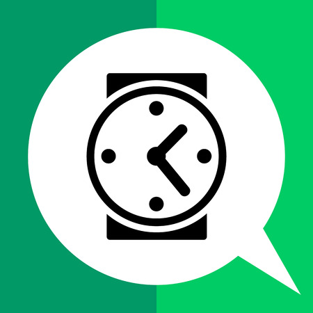 period of time: Watch. Timing, time management, period. Timing concept. Can be used for topics like business, startup, management Illustration