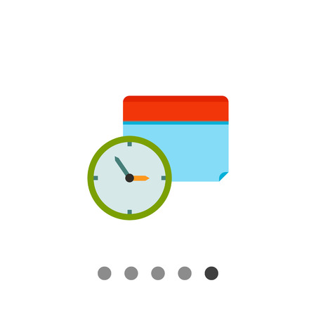 event planning: Clock and calendar in background. Schedule, event, date. Calendar time concept. Can be used for topics like business, management, finance, planning.