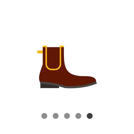 chelsea: Chelsea boot. Man, leather, classic. Footwear concept. Can be used for topics like footwear, history, fashion.