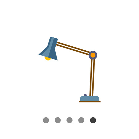 reading lamp: Desk lamp icon