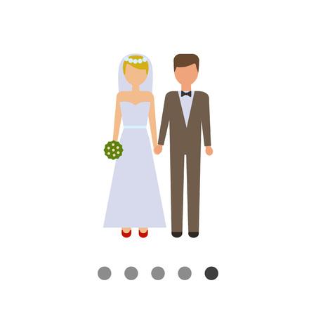 Icon of bride and bridegroom