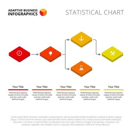 Flow Chart Slide Template Business Data Graph Diagram Design - Flow chart diagram template