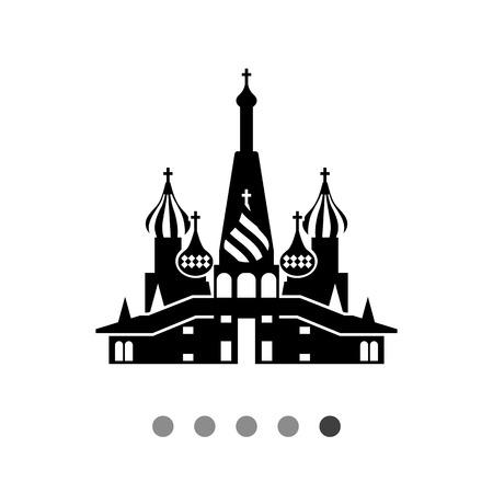 basil's: Icon of Saint Basil�s Cathedral Illustration