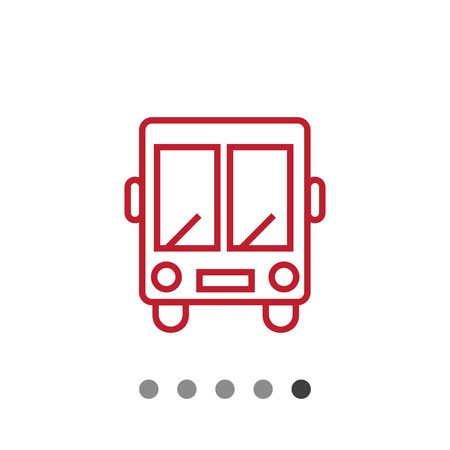 shuttle: Shuttle bus icon