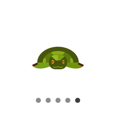 green sea turtle: Image of Japanese symbolic animal green sea turtle