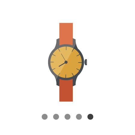 wristwatch: Wristwatch icon Illustration