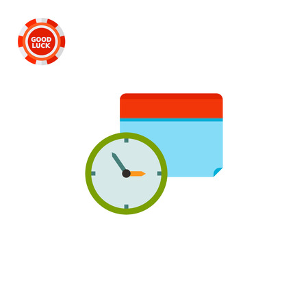 Clock and calendar in background. Schedule, event, date. Calendar time concept. Can be used for topics like business, management, finance, planning.