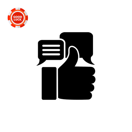 appreciations: Thumb up silhouette. Appreciations, estimate, recognition, value. Appreciation concept. Can be used for topics like business, startup, rating, e-commerce Illustration
