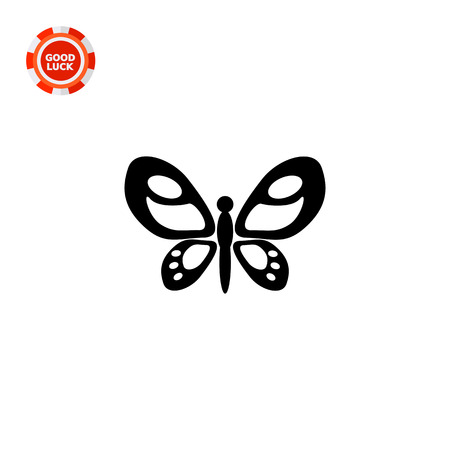 spread: Beautiful butterfly with spread ornate patterned wings. Summer, insect, tropical. Butterfly concept. Can be used for topics like zoology, biology, tourism.