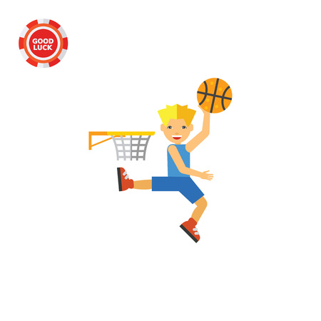 throwing ball: Basketball player throwing ball in hoop. Basketball game, sport, leisure activity. Team game concept. Can be used for topics like sport, basketball game, leisure activity