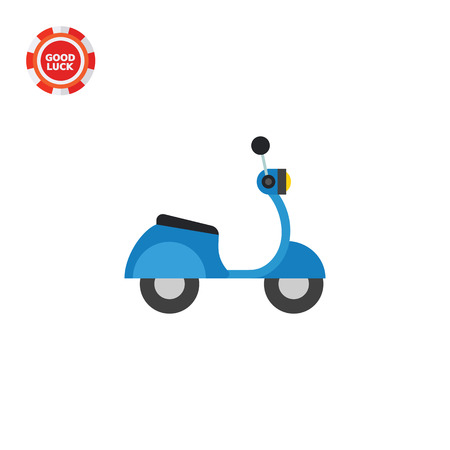 postal service: Motorbike. Transportation, driving, fast. Motorbike concept. Can be used for topics like transport, delivery, postal service, business.